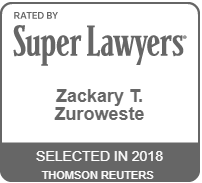 SuperLawyers - Business Litigation - Zackary Zuroweste Clearwater Lawyer